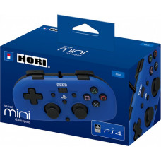 Геймпад проводной HORI HORIPAD MINI для PS4 (синий)