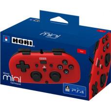 Геймпад проводной HORI HORIPAD MINI для PS4 (красный)