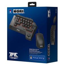 Кейпад HORI T.A.C FOUR и игровая мышь для PS4 / PS3 / PC