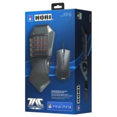Кейпад HORI T.A.C PRO и игровая мышь для PS4 / PS3 / PC