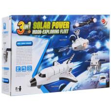 """Конструктор 3 в 1: Исследовательский набор """"Лунный флот на солнечной энергии"""""""