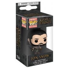 Брелок Game of Thrones - Pocket POP! - Jon Snow (Beyond the Wall) (4 см)