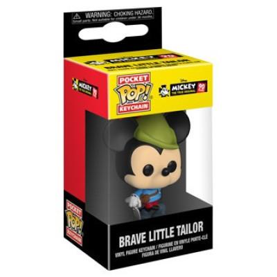 Брелок Funko Mickey: The True Original (90 Years) - Pocket POP! - Brave Little Tailor 32174-PDQ (4 см)