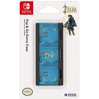 Кейс HORI для хранения картриждей NS (The Legend of Zelda: The Breath of the Wild) NSW-097U