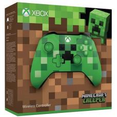 Беспроводной геймпад для Xbox One (Minecraft Creeper)