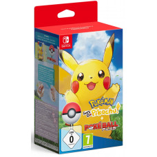 Набор Poké Ball Plus + Pokémon: Let's Go, Pikachu! [NS, английская версия]