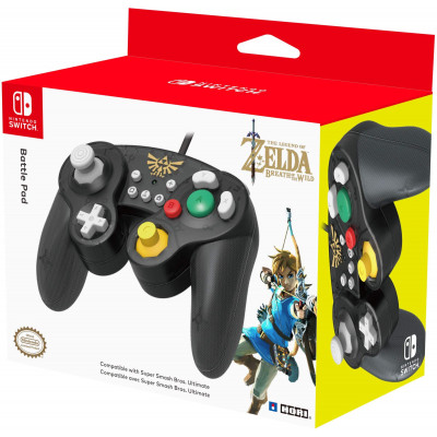 Контроллер HORI Battle Pad для NS (The Legend of Zelda: The Breath of the Wild) NSW-108U