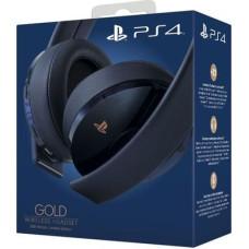Гарнитура беспроводная Gold для PS4 (Gold Wireless Headset: CUHYA-0080) (темно синий)