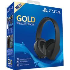 Гарнитура беспроводная Gold для PS4 (Gold Wireless Headset: CUHYA-0080) (черный)