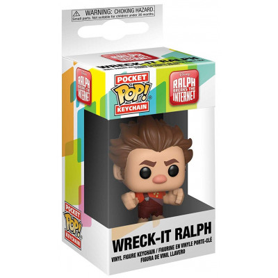Брелок Funko Ralph Breaks the Internet - Pocket POP! - Wreck It Ralph 33421-PDQ (4 см)