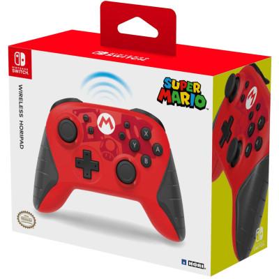 Контроллер HORI беспроводной HORIPAD для NS (Super Mario) NSW-233U