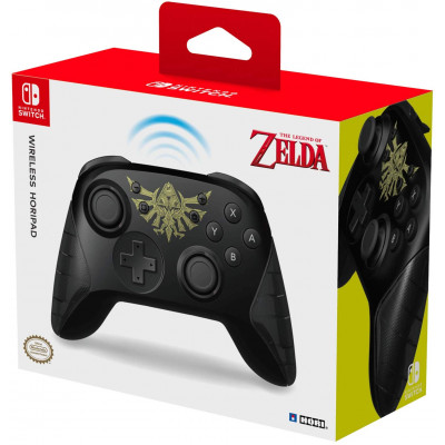 Контроллер HORI беспроводной HORIPAD для NS (The Legend of Zelda: The Breath of the Wild) NSW-234U