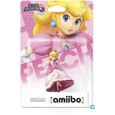 Интерактивная фигурка amiibo - Super Smash Bros - Peach