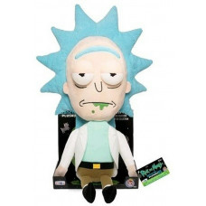 Мягкая игрушка Rick & Morty - Galactic Plushies - Rick with Tray (Exc) (40 см)