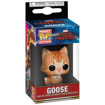 Брелок Captain Marvel - Poket POP! - Goose the Cat (4 см)