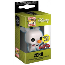 Брелок Nightmare Before Christmas - Pocket POP! - Zero (GITD) (Exc) (4 см)
