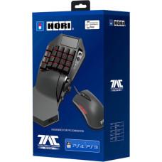Кейпад HORI T.A.C PRO TYPE M2 и игровая мышь для PS4 / PS3 / PC