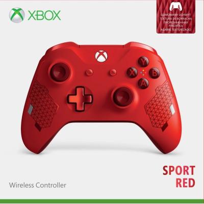 Беспроводной геймпад для Xbox One (Sport Red)