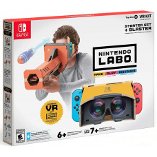 """Комплект Nintendo Labo """"VR"""" (стартовый набор + бластер) (Toy-Con 04) [NS, русская версия]"""