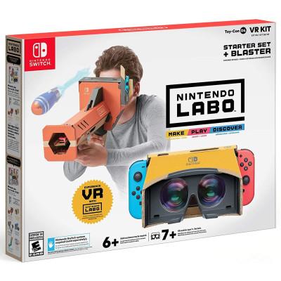 """Игра для Nintendo Switch Комплект Labo """"VR"""" (стартовый набор + бластер) (Toy-Con 04) (русская версия)"""