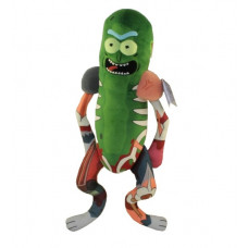 Мягкая игрушка Rick & Morty - Galactic Plushies - Pickle Rick in Rat Suit (46 см)