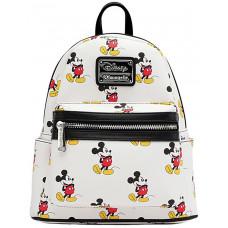 Мини рюкзак со сплошным принтом Mickey Mouse Classic