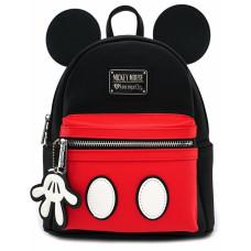 Мини рюкзак Mickey Mouse (с аппликацией и подвеской)