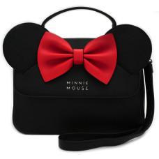 Сумка через плечо Minnie Mouse (черные ушки и красный бант)