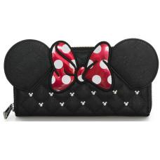 Бумажник Minnie Mouse с бантом и вышивкой