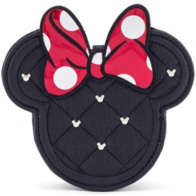 Сумочка для монет Minnie Mouse с вышивкой и бантом