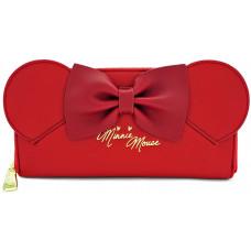 Бумажник Minnie Mouse (красные ушки и красный бант)