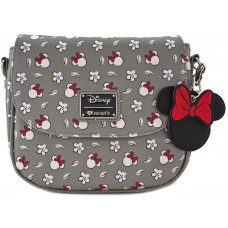 Сумка через плечо со сплошным принтом головы Minnie Mouse и цветка