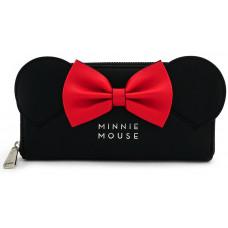 Бумажник Minnie Mouse (черные ушки и красный бант)