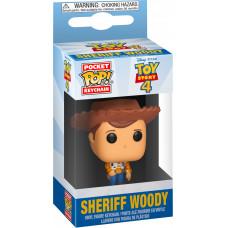 Брелок Toy Story 4 - Pocket POP! - Sheriff Woody (4 см)
