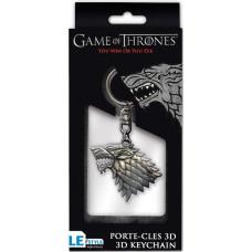 Брелок Game of Thrones - Emblem Stark (3D)