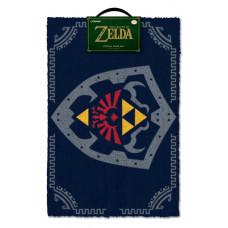 Коврик придверный The Legend of Zelda - Hylian Shield (40x60 см)