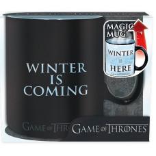 "Кружка Game of Thrones - ""Winter is here"" (Heat Change)"