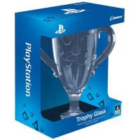 Стеклянный бокал PlayStation Trophy