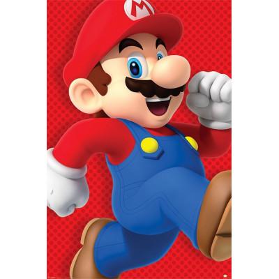 Постер Super Mario - Run (61x91.5 см)