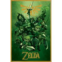 Постер The Legend Of Zelda - Link (61x91.5 см)