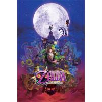 Постер The Legend Of Zelda - Majora's Mask (61x91.5 см)