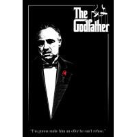 Постер The Godfather - Red Rose (61x91.5 см)