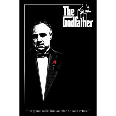 Постер Pyramid The Godfather - Red Rose PP30558 (61x91.5 см)