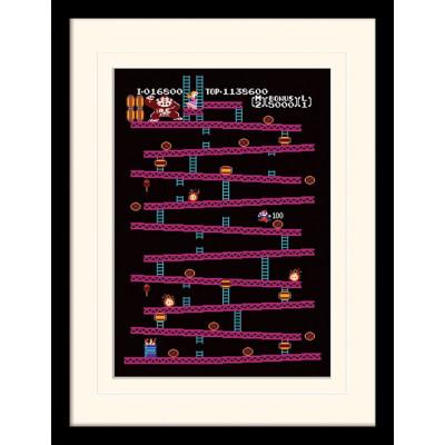 Принт в рамке Donkey Kong - NES (30x40 см)