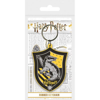 Брелок Pyramid Harry Potter - Hufflepuff Shield RK38694C (6 см)