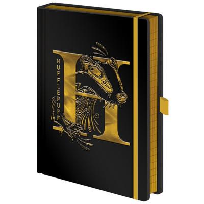 Записная книжка Pyramid Harry Potter - Hufflepuff Foil SR72694