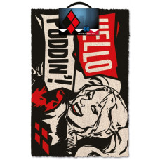 "Коврик придверный DC Comics - Harley Quinn ""Hello Puddin'!"" (40x60 см)"