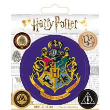 Набор наклеек Harry Potter - Hogwarts (5 шт)