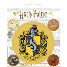 Набор наклеек Harry Potter - Hufflepuff (5 шт)