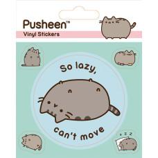 Набор наклеек Pusheen - Lazy (5 шт)